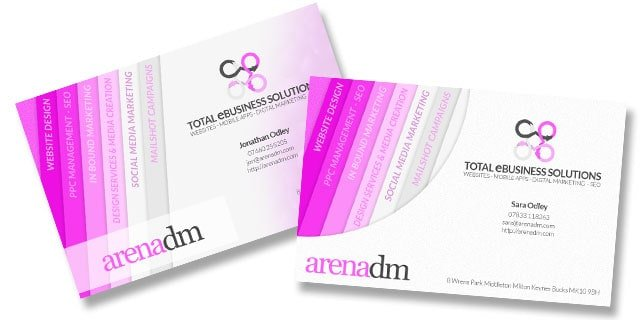 business cards and logo design services