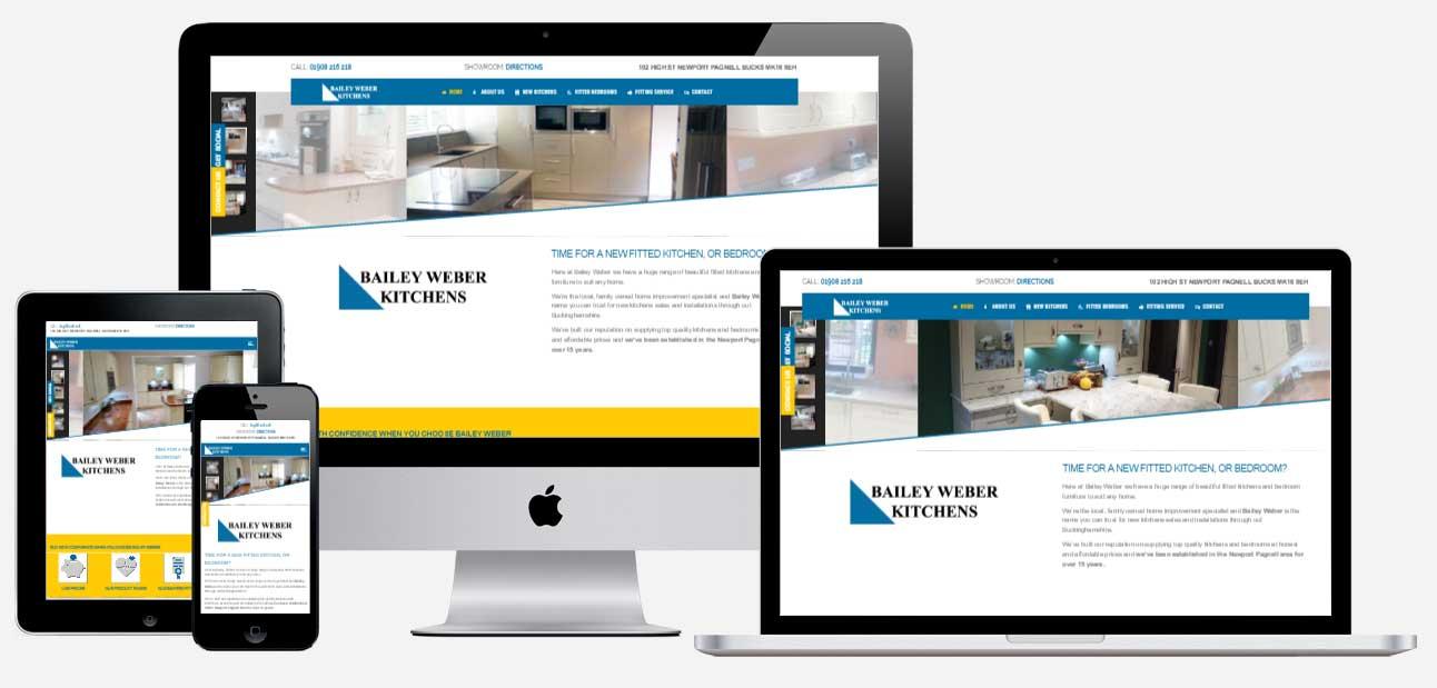 Bailey Weber Kitchens website
